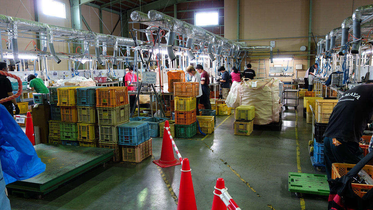 鶴ヶ島作業所の作業場2